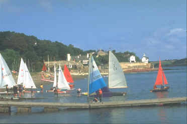 Dale's sheltered position in Milford Haven provides ideal conditions for sailing and windsurfing.